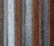 Grunge Hintergrund von gewölbtem Metall lizenzfreie stockfotos