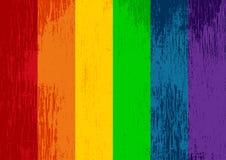 Grunge homoseksualisty flaga royalty ilustracja