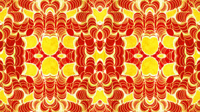 Grunge Hot Pattern Royalty Free Stock Photo