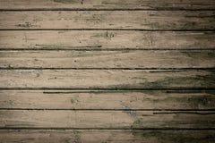 Grunge houten natuurlijke achtergrond met bruine planken Stock Foto's
