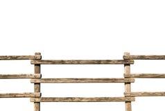 Grunge houten omheining royalty-vrije stock foto