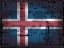 Grunge IJsland Stock Fotografie