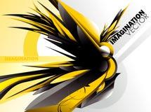 Grunge illustration Stock Image