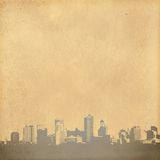 Grunge image of cityscape Stock Photography