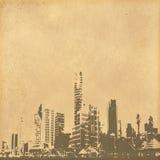 Grunge image of cityscape Stock Image