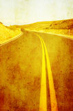 Grunge image of highway Royalty Free Stock Images