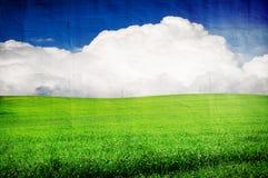 Grunge image of landscape Royalty Free Stock Image