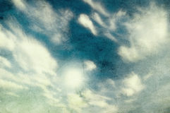 Grunge image of sky Royalty Free Stock Photo