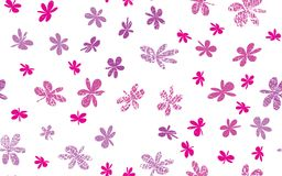 Grunge inconsútil Daisy Flower Abstract Vector Background Foto de archivo libre de regalías