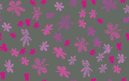 Grunge inconsútil Daisy Flower Abstract Vector Background Fotos de archivo