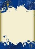 Grunge Indiana flaga Zdjęcie Stock