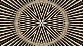 Grunge industrial abstrato Rusty Metallic Clock Gears ilustração royalty free