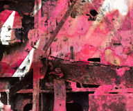 Grunge Industrial Art Background Royalty Free Stock Photo