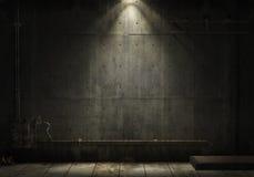 Grunge industrieller Hintergrund Stockfoto