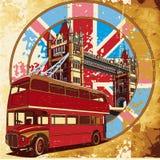 Grunge inglés II del estilo Foto de archivo libre de regalías