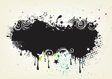 grunge ink background Stock Photos
