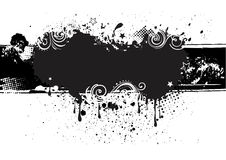 grunge ink background Royalty Free Stock Photo
