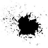 Grunge Ink Background Stock Photography