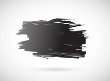 Grunge ink banner for copy space Stock Photo