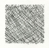 Grunge ink pen textured backgorund frame Royalty Free Stock Photo