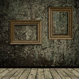 Grunge interior Royalty Free Stock Image