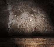 Grunge interior Royalty Free Stock Photos