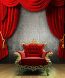 Grunge interior Stock Image
