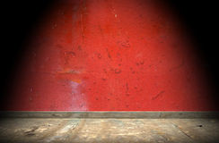 Grunge interior. Vintage room interior, old floor and wall Royalty Free Stock Image