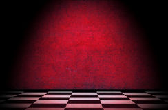 Grunge interior. Vintage room interior, old floor and wall Royalty Free Stock Images