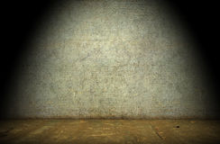 Grunge interior. Vintage room interior, old floor and wall Royalty Free Stock Photos