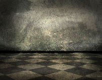 Grunge interior with copy-space Royalty Free Stock Photography