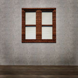 Grunge interior with window Stock Images