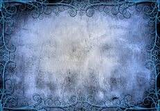 Grunge with intricate design Stock Images