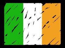 Grunge Irish flag Royalty Free Stock Photo