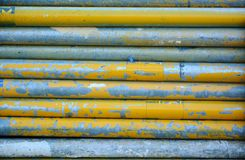 Grunge iron pipes Stock Photography