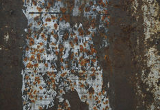 Grunge iron rust texture Stock Images