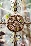 Grunge Ironwork Detail Stock Photo