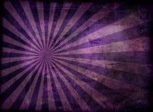 Grunge irradia púrpura stock de ilustración