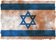 Grunge israel Stock Image