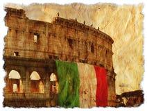 Grunge Italien Stockfoto