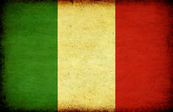 Grunge Italy flag Royalty Free Stock Photos