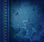 Grunge jeans texture Royalty Free Stock Image