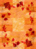 Grunge jesieni tło Obraz Royalty Free