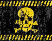 Grunge jolly roger background Stock Image