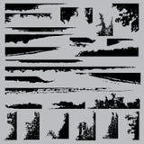 Grunge kąty royalty ilustracja