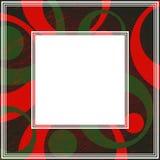 Grunge kader-03 Royalty-vrije Stock Foto