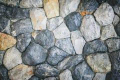 Grunge Kamiennej ściany tła tekstury rocznika brzmienie Zdjęcia Stock