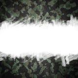 Grunge kamuflażu militarny tło z przestrzenią dla teksta Obrazy Royalty Free