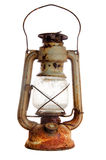 Grunge kerosene lamp Royalty Free Stock Image