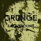Grunge khaki background. Vector illustration stock illustration